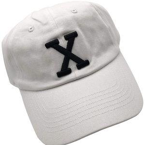 Malcom X trendy White  #dadcap  hat *NWT*